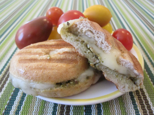 Bagel Pesto Panini 10 fast back to school sandwich recipes 