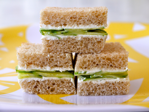 Cucumber Cream Cheese Sammie 10 fast back to school sandwich recipes 