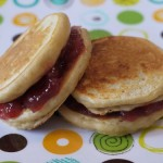 P B &amp; J Pancake Sandwiches