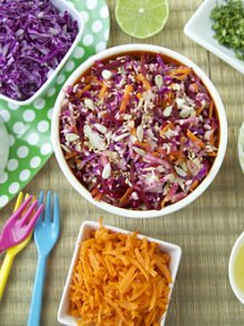 Grated Vegetable Salad