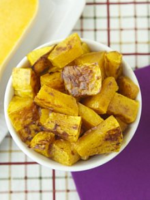 Cinnamon Maple Roast Butternut Squash