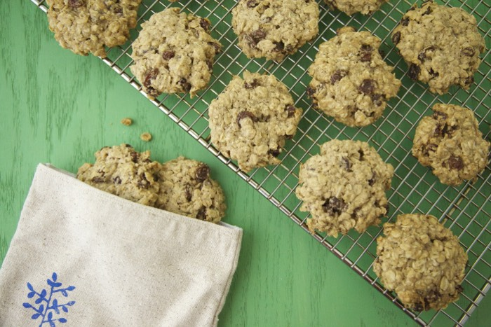 Gluten Free and Vegan Oatmeal Raisin Cookies | Weelicious.com