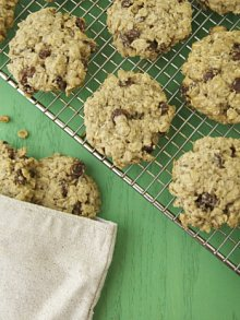Gluten Free and Vegan Oatmeal Raisin Cookies
