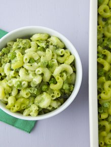 Green Mac and Cheese
