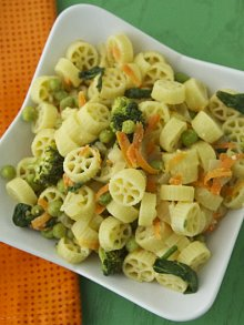 Bright Vegetable Pasta