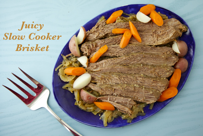 Juicy Slow Cooker Brisket
