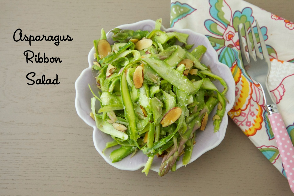 Ribboned Asparagus Salad With Lemon Recipes — Dishmaps