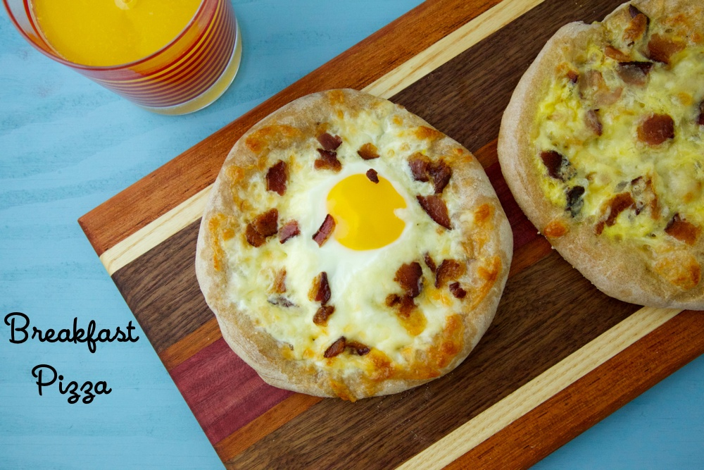 Breakfast Pizza 2