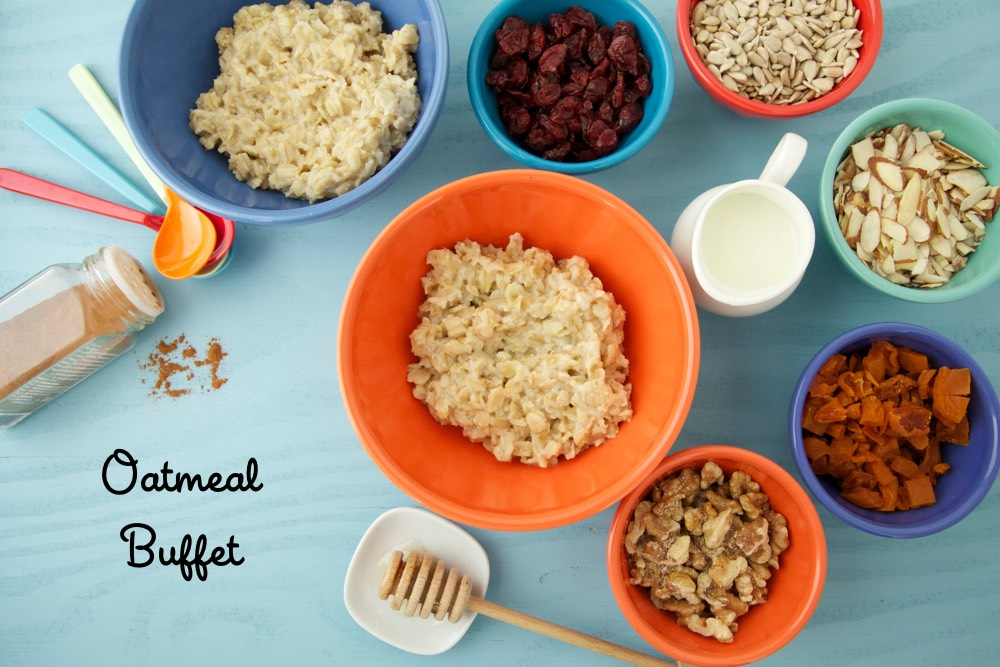 Oatmeal Buffet