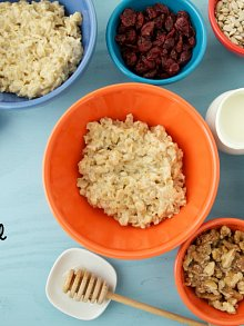 DIY Oatmeal Buffet
