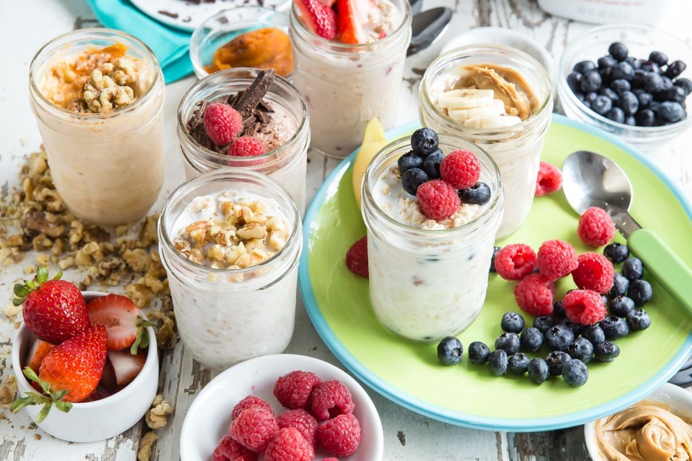 Refrigerator Oatmeal from weelicious.com