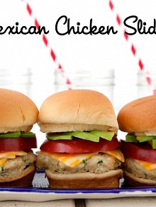Mexican Chicken Sliders