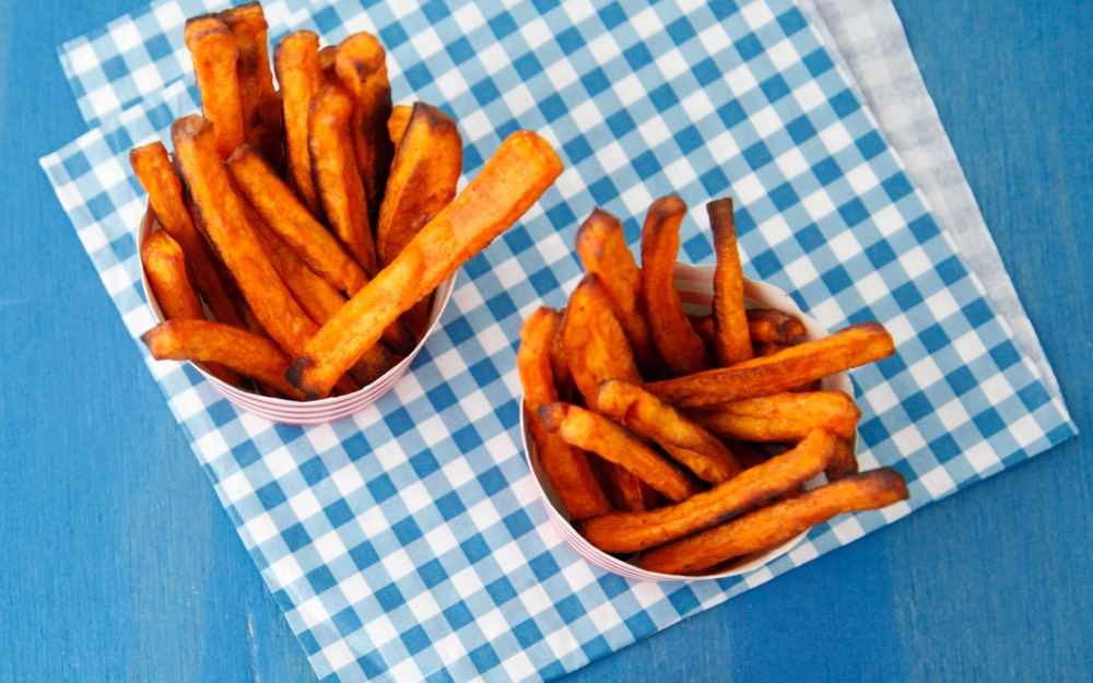 Cinnamon Sweet Potato Fries 2