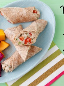 Mexican Bean Tortilla Wraps