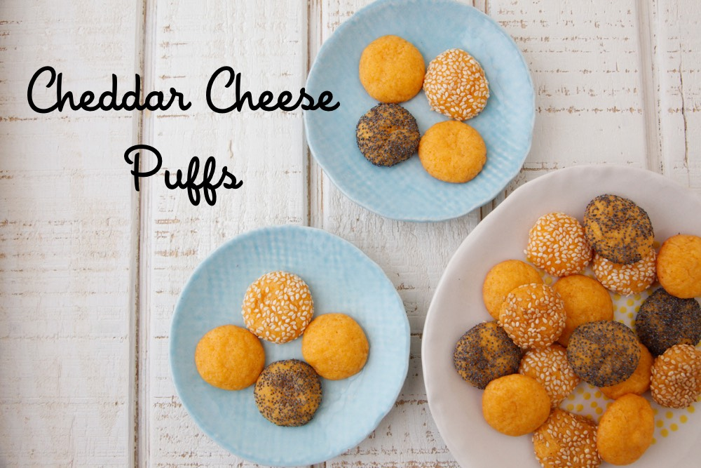 Cheddar Cheese Puffs Recipe — Dishmaps