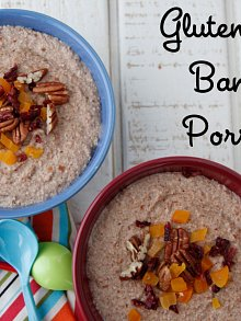 Gluten-Free Banana Porridge from Against All Grain