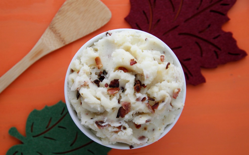 Buttermilk Bacon Whipped Potatoes