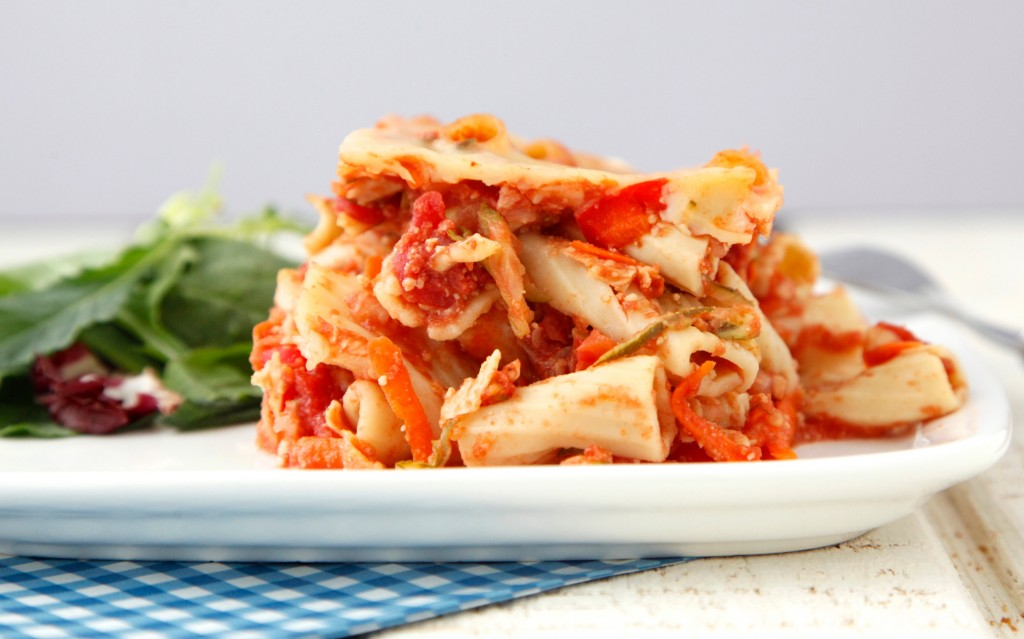 Crock Pot Vegetable Ziti 2