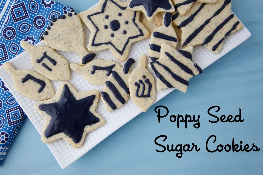 Poppy Seed Sugar Cookies