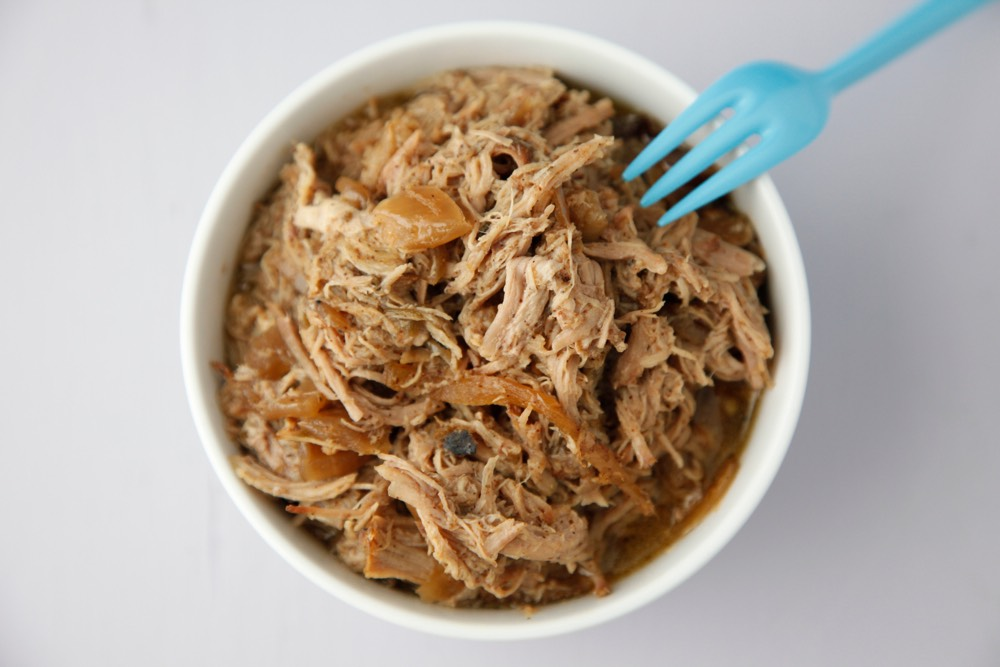 Mexican Pulled Pork Shoulder in the Slow Cooker