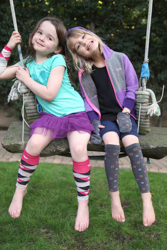 DIY Leg Warmers on Weelicious