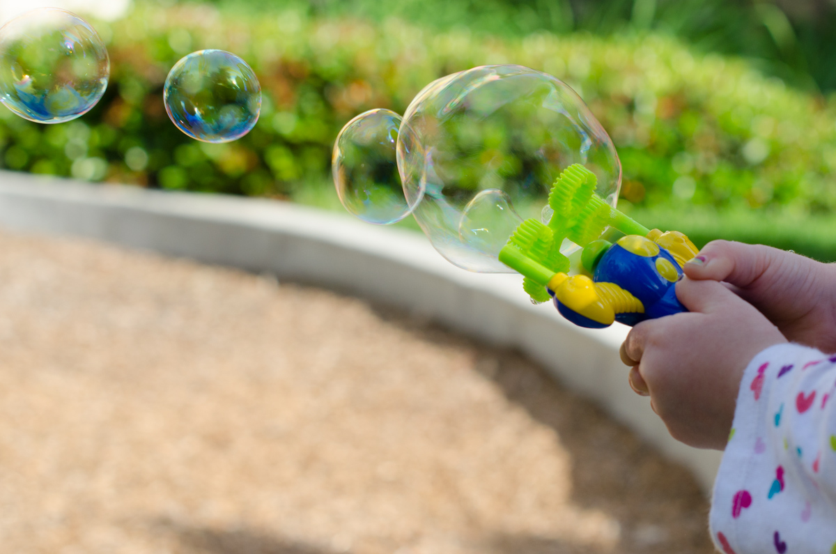 Bubble Party on Weelicious