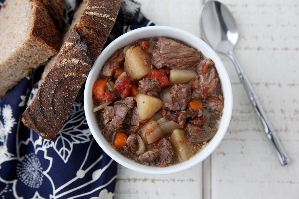 Beef Stew in the Crock Pot Video from Weelicious
