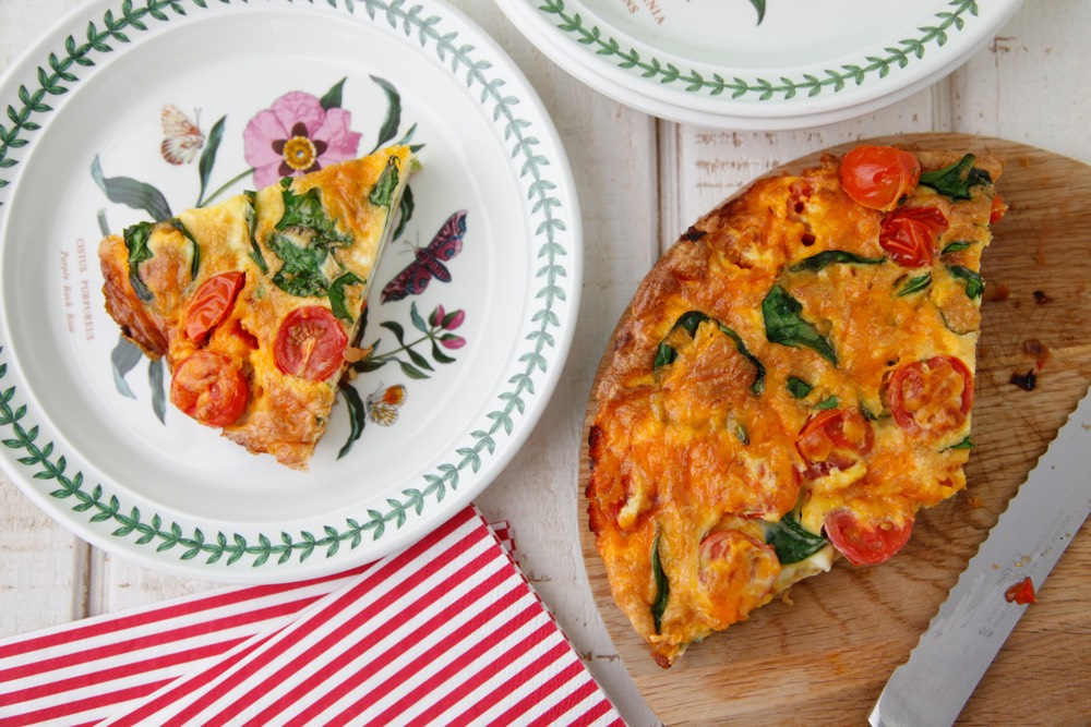 Vegetable Frittata 3