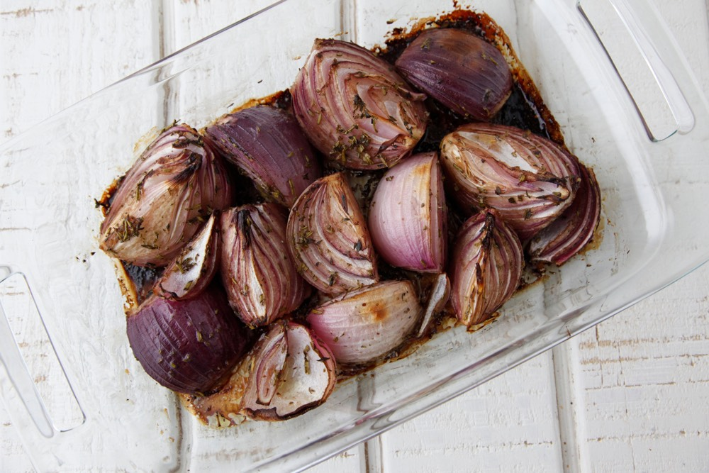 Balsamic Roasted Onions from Weelicious