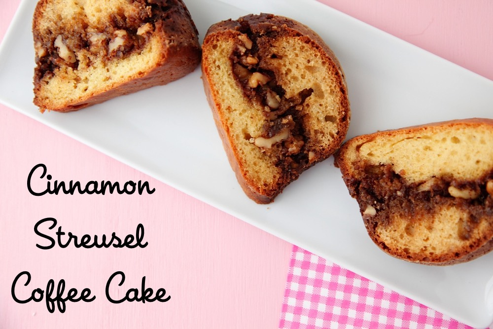 Cinnamon Streusel Coffee Cake from Weelicious