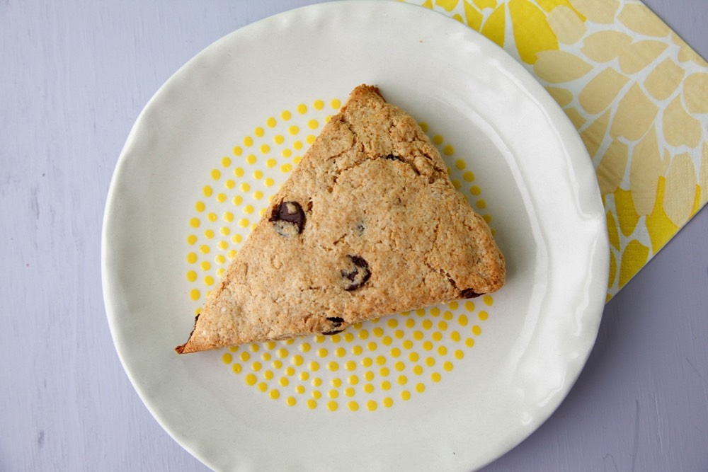 Whole Wheat Chocolate Chip Scones from Weelicious