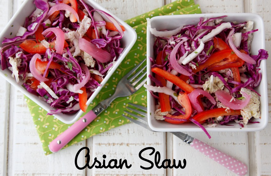 Asian Slaw from Weelicious