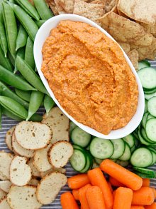 Roasted Red Pepper Almond Sauce