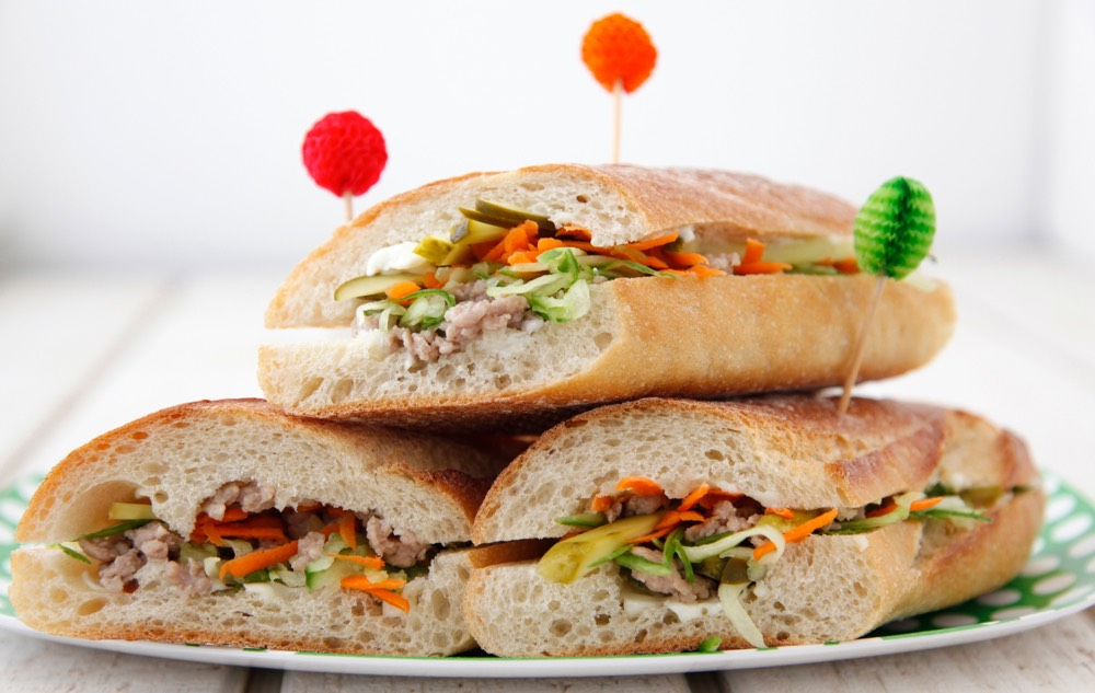 Pork Bahn Mi Sammies from Weelicious