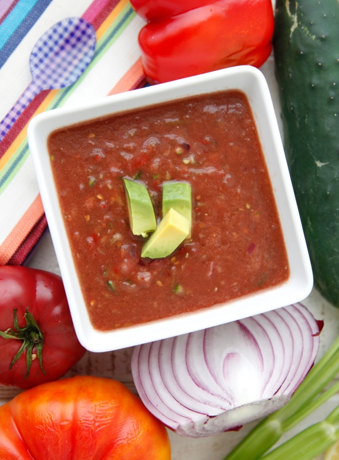 Wee Gazpacho video from Weelicious