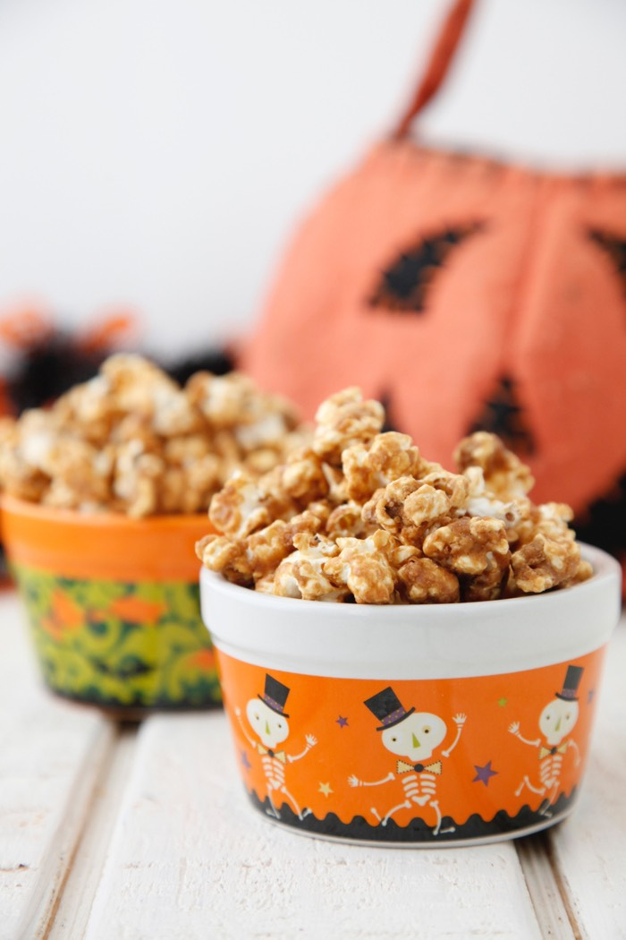 Caramel Popcorn from Weelicious