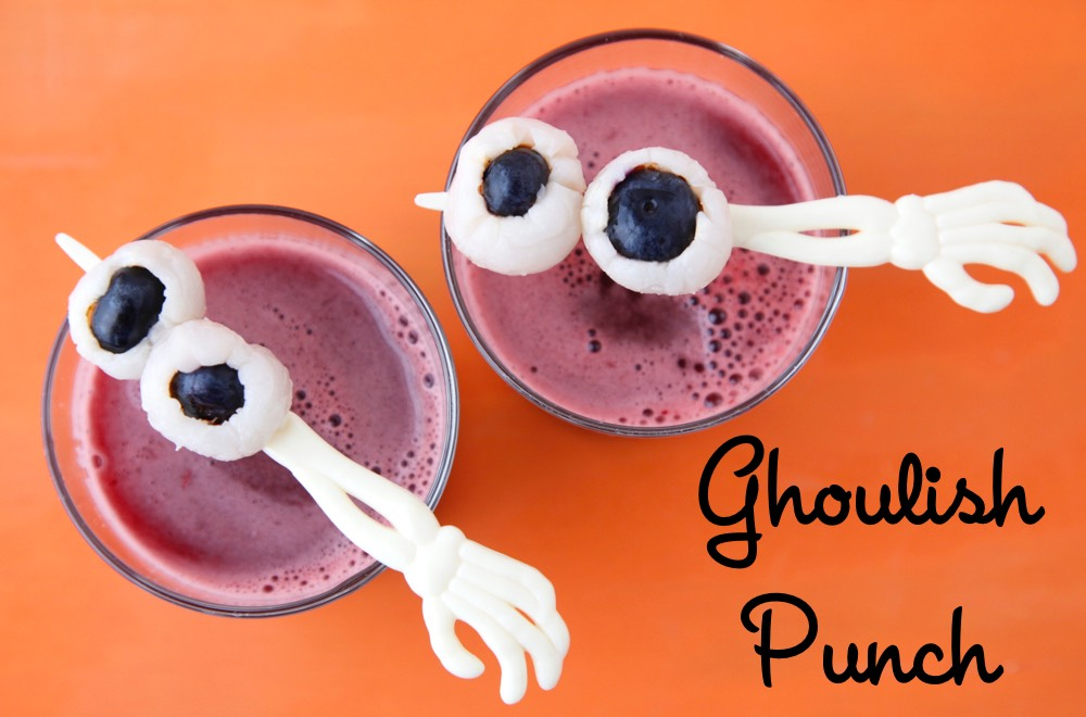 Ghoulish Punch from Weelicious