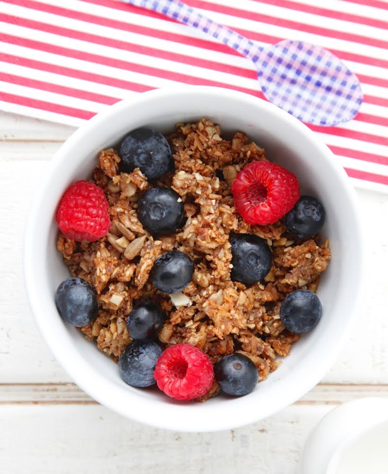 Nut Free Granola and Cookbook Giveaway from Weelicious!