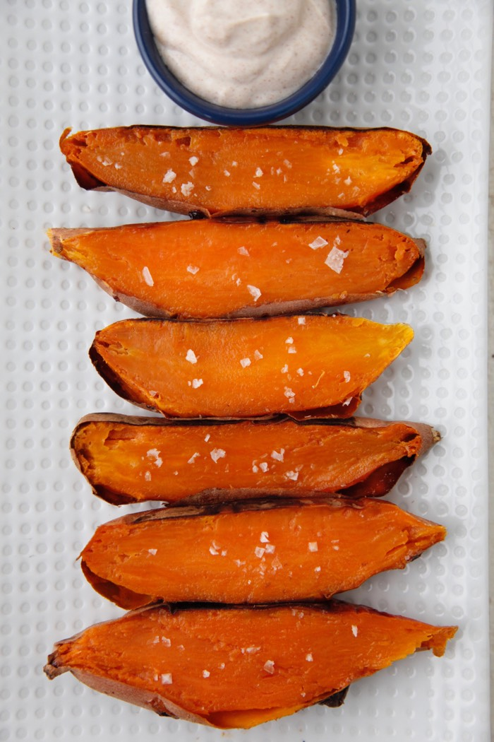 Sweet Potato Dippers from Weelicious