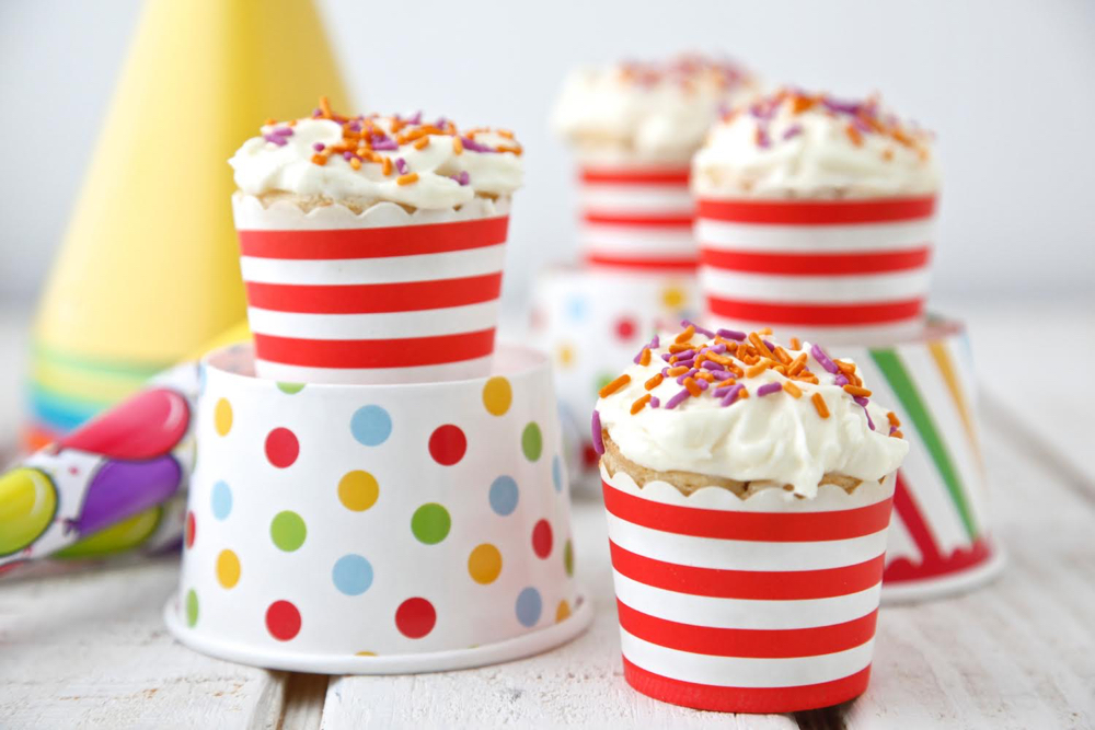Dye-Free Confetti Cupcakes from Weelicious