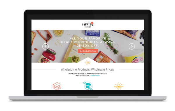 Shop Thrive Market and Save.