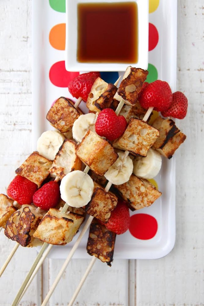 French Toast on a Stick video from Weelicious
