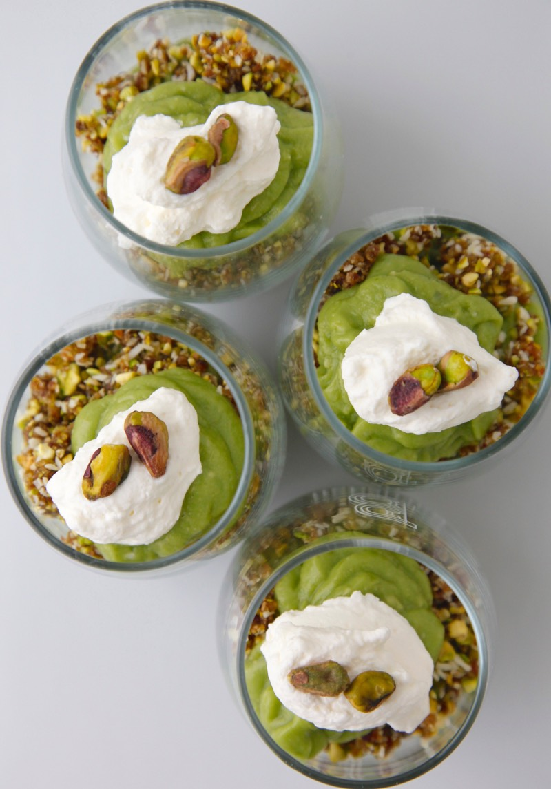 Creamy Avocado Lime Parfaits from Weelicious