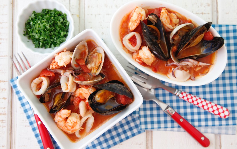 Seafood Stew from Weelicious.com