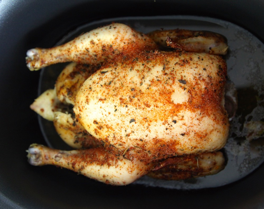 Herbed Chicken in the Crock Pot from Weelicious