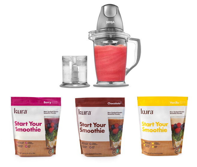 Kura Smoothies giveaway from Weelicious