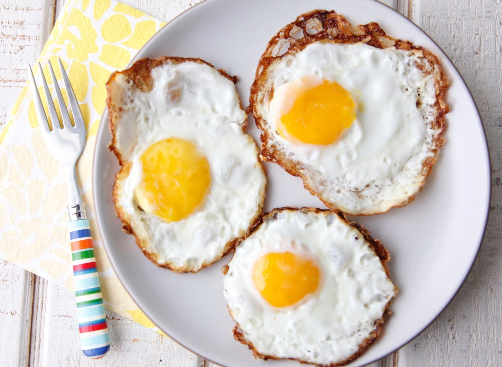 how to cook a crispy egg