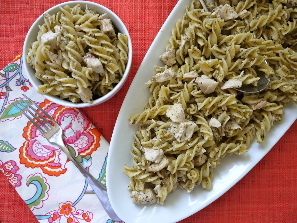 Chicken And Pesto Pasta Recipe — Dishmaps