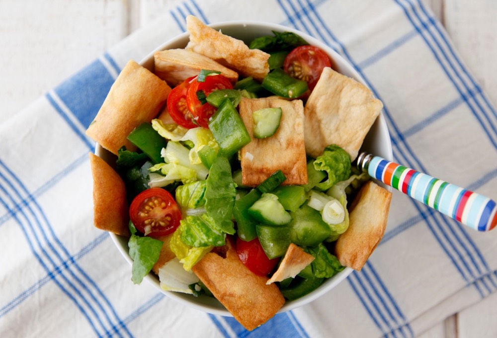 Fattoush Salad video from weelicious.com