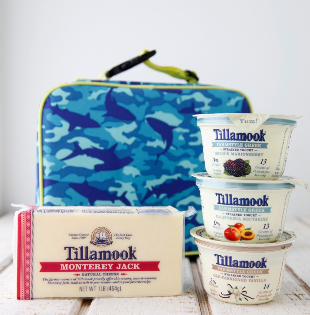 Tillamook De-Junk the Lunchbox from weelicious.com
